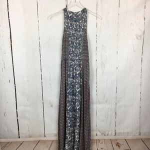 Japna Smocked Maxi Dress
